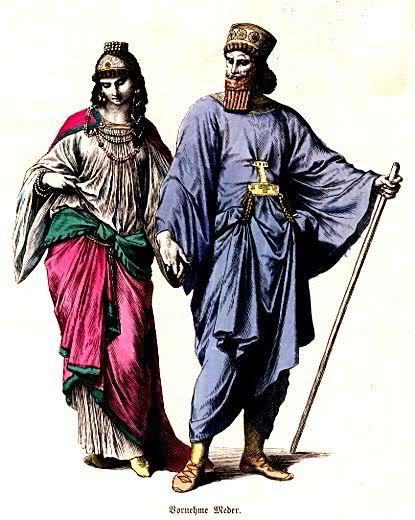 بنفش ، رنگ برگزیده ی ایرانیان باستان
